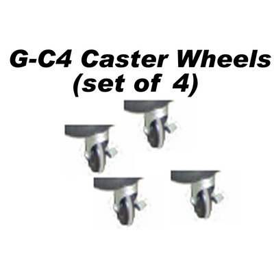 Caster Wheel with Break Lock (Set of 4)