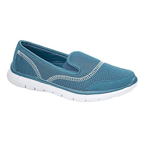 Chaussures Dek Légères Femme Décontractées Sarcelle HOqFAOw