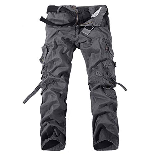 Allywit Men's Cotton Casual Military Army Cargo Camo Combat Work Pants Big and Tall by Allywit-Pants (Image #1)