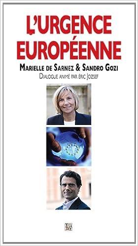 Lire un L'urgence européenne pdf, epub ebook