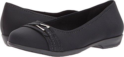 Flynn Cradles Stretch Walking Flat Women's Black Loafer Fabric qExY6wO
