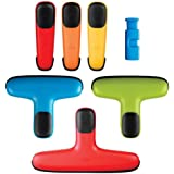 OXO Chip Bag Clip Set, Assorted Colors
