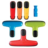 Tools & Hardware : OXO Chip Bag Clip Set, Assorted Colors