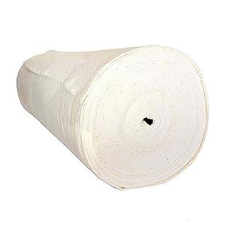 "Cozy Creations 90""x42yds Quilting Cotton Batting Bulk Roll   Premium Quality Wadding by the Yard   No Shrinking, Machine Washable"