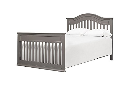DaVinci Brooke 4-in-1 Crib Full Size Conversion Kit Bed Rails - Slate