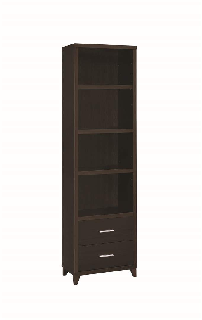 Coaster Home Furnishings 2-drawer Media Tower Cappuccino by Coaster Home Furnishings