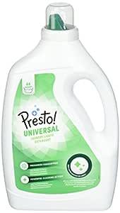 Marca Amazon - Presto! Detergente universal líquido, 176 lavados (1 paquete con 4 unidades, 44 cada uno)