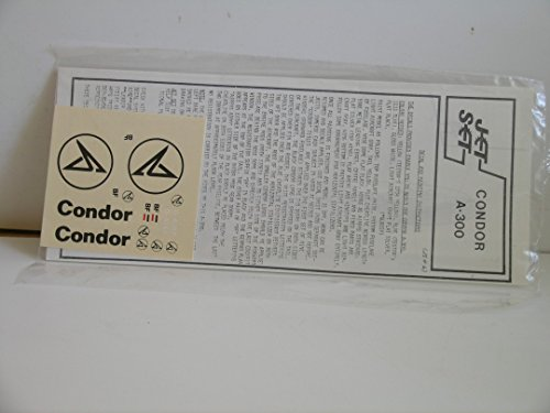 "Jet Set Decals---1/144 Scale Decals for the ""A-300 Condor"""