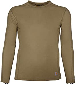 ExerpeuticCarhartt Men's Force Midweight Classic Thermal Base Layer Long Sleeve Shirt