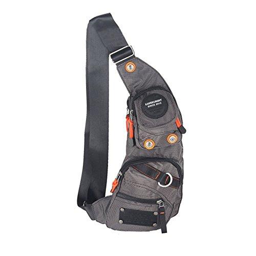 Free Kawei Knight Nylon Sling Bag Messenger Backpack