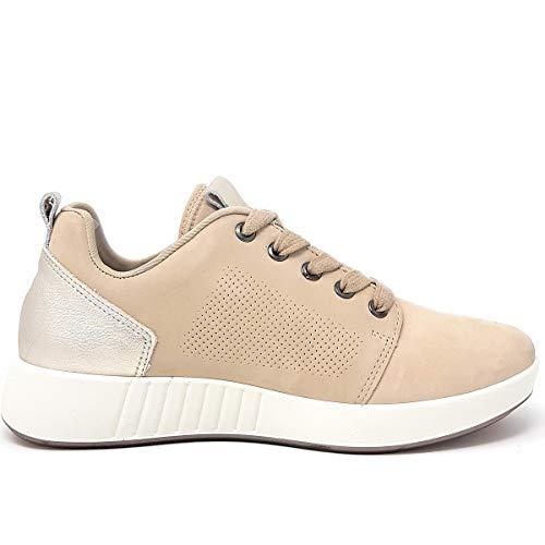 Damen Legero Essence beige Beige spray Sneaker 42 Z7q74wOx