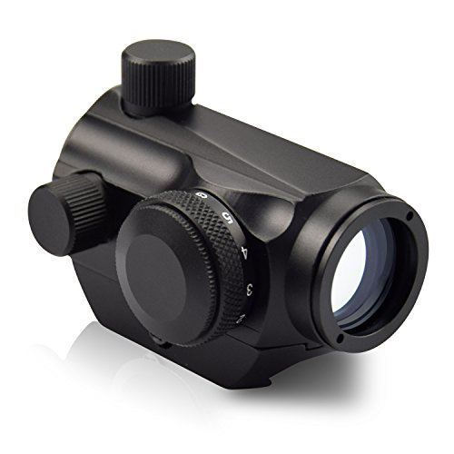 Pistol Sights Red Dot (OTW Red Dot Sight,1x20mm 4 MOA Red Green Dot Sight Micro Rifle Scope)