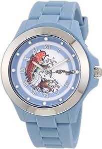 Ed Hardy Women's MT-BL Mist Blue Watch