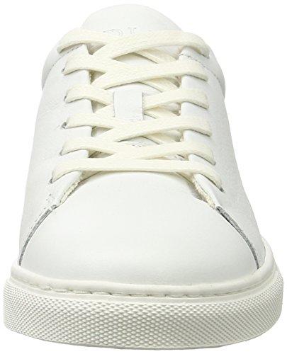 Sneaker la de Donna la Fred Bretoniere Leder Fred Leder Bretoniere Sneaker de bianco Donna wqPRxpnTx