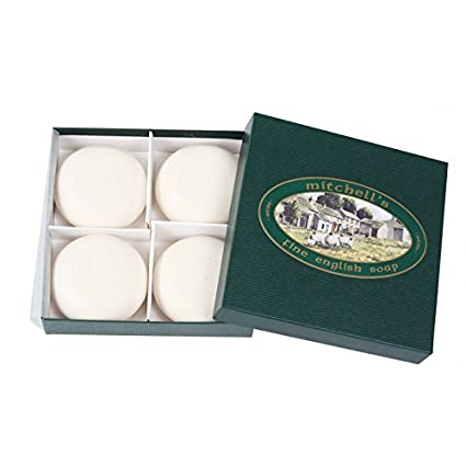 Mitchells Wool Fat Estuche Regalo 4 Jabones x 150g: Amazon ...