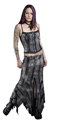 Shrine Gothic Apocalyptic Burning Man Mad Max Long Skirt (3XL)