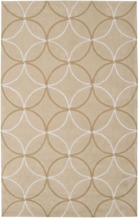 Area Rug 9x13 Rectangle Contemporary Tan-Beige Color - Surya Cosmopolitan Rug from RugPal