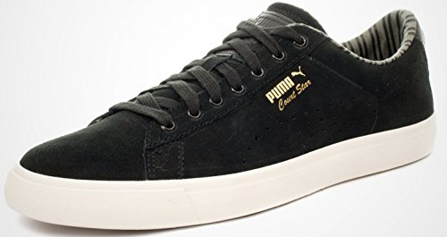 Uomo Citi Puma Star Court Vulc Nero Sneaker nwnOfxRUvT