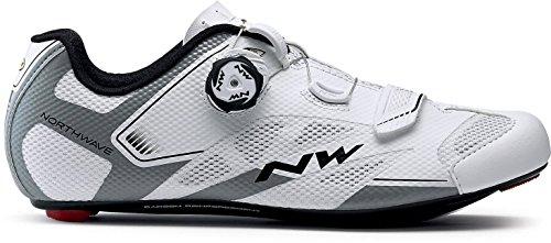 Northwave Sonic 2Plus per bici da corsa scarpe bianco 2018