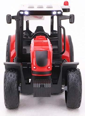 Toyland (MD - Tracteur et remorque basculante Rouge de 38 cm avec lumières et Sons - Farm Toys