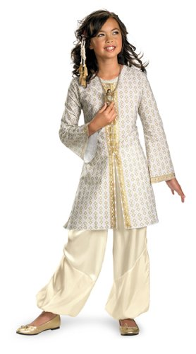 [Lets Party By Disguise Inc Prince Of Persia - Tamina Deluxe Child Costume / Brown/Red - Size Medium (7-8)] (Prince Of Persia Tamina Costumes)