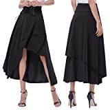 Search : Belle Poque Women's Vintage Irregular Hemline Gothic Style Skirt BP000344