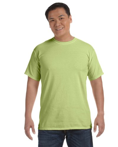 Comfort Colors Women's Garment-Dyed Front-Slit Hooded Sweatshirt (C1717),Celedon-Small