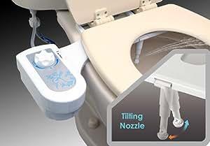 Micca BD7 Fresh Water Tilting Spray Bidet Toilet Seat Attachment