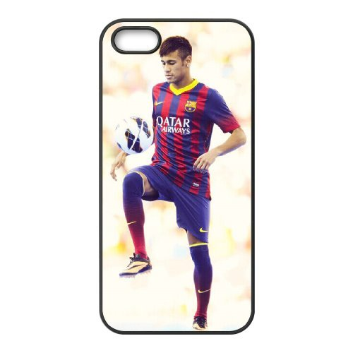 Neymar Phone Case And One Free Tempered-Glass Screen Protector For iPhone 5,5S T268100