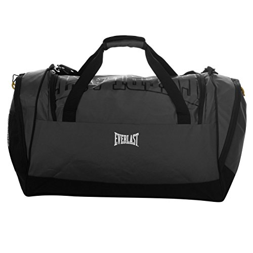 Everlast Mens Holdall Charcoal/Black One - Gym Bag Everlast
