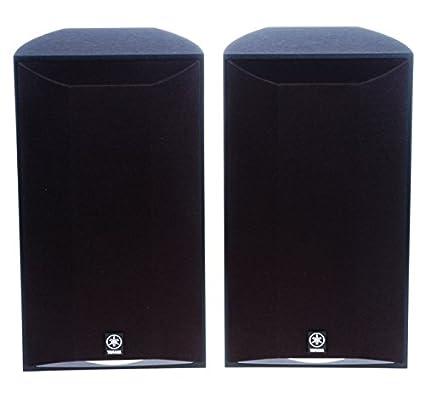 Yamaha NS AP6500S 3quot 2 Way Bookshelf Speaker Pair Black