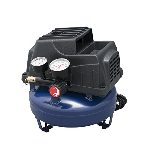 Campbell Hausfeld Air Compressor, 1-Gallon Pancake Oilless .36 CFM .33HP 120V 3A (FP2028)