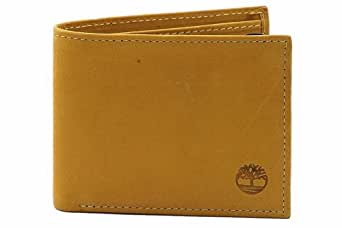 Timberland Commuter Gold Bifold Leather Wallet