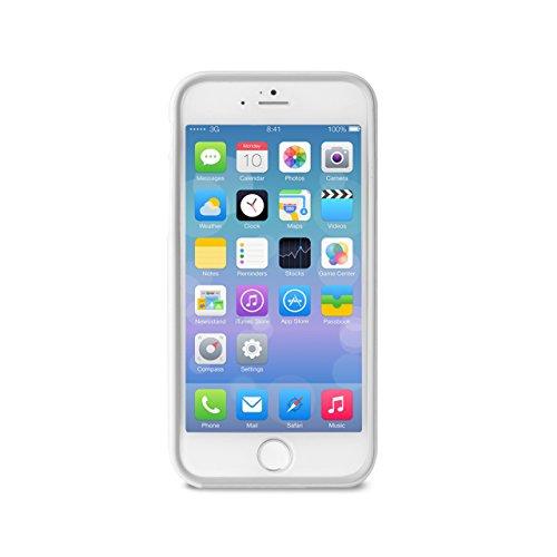 Puro IPC655BUMPERWHI Bumper Case + Screen Protector for iPhone 6 5.5 Inches White