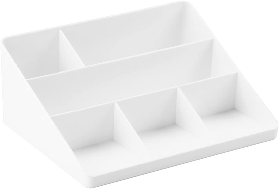 InterDesign Office Supplies Desk Organizer, for Mail, Pens, Markers, Highlighters, Tape