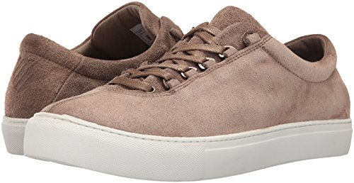 K-Swiss Men's Court Classico Suede Fashion Sneaker, Taupe/White, 10 M US