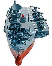 SSBH 2,4 GHz Remoto de Aviones de Control Función de Agua de Juguete Infantil Barco portadoras Militares Modelo Exquisito Velocidad con Agua Conducción for Niños Adulto cumpleaños
