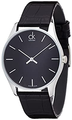 Calvin Klein Classic K4D211C1 Mens Wristwatch Classic & Simple
