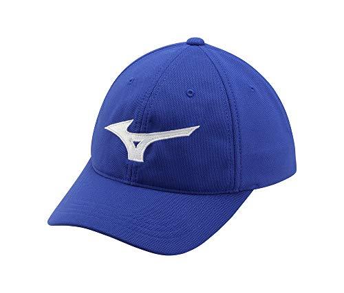 Mizuno Tour Adjustable Golf Hat, Royal-White, One Size