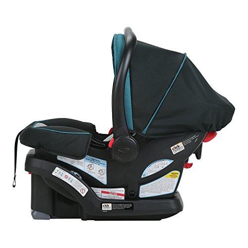 Image of the Graco SnugRide SnugLock 30 Infant Car Seat, Sapphire