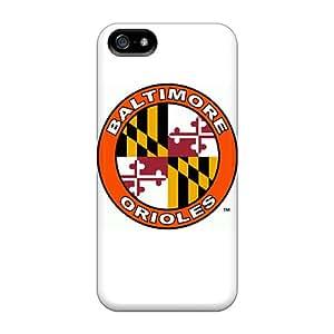 Iphone 5/5s YrT7027Uqvj Unique Design Trendy Baltimore Orioles Pattern Anti-Scratch Cell-phone Hard Cover -ChristopherWalsh