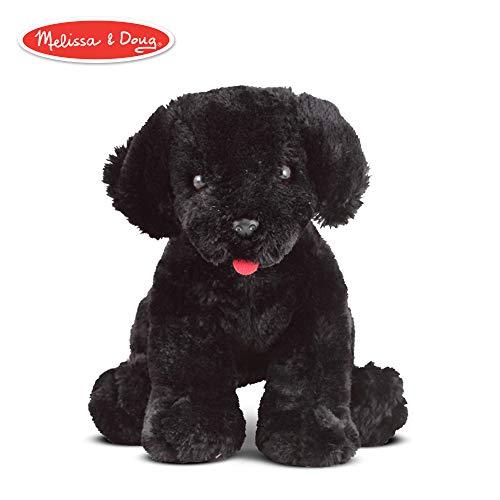 Melissa & Doug Benson Black Lab Puppy Dog (Plush Stuffed Animal, 10 inches)