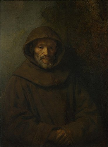 Oil Painting 'Rembrandt A Franciscan Friar ' Printing On High Quality Polyster Canvas , 12 X 16 Inch / 30 X 41 Cm ,the Best Garage Gallery Art And Home Gallery Art And Gifts Is This Beautiful Art Decorative Prints On Canvas
