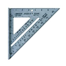 Swanson Tool T0112 Speedlite Square, Gray