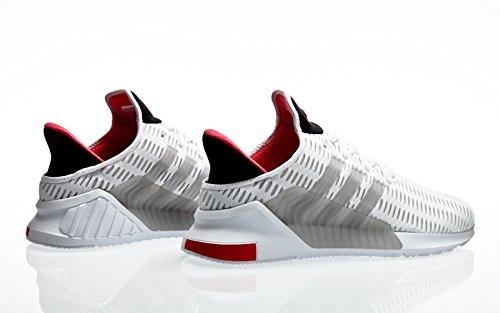 adidas Originals Climacool 02/17, Footwear White-Footwear White-Grey One Bianco (Ftwbla / Ftwbla / Griuno)