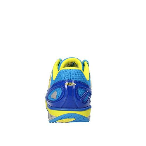 MBT Simba 5, Zapatillas de Deporte para Exterior para Hombre Azul / Amarillo