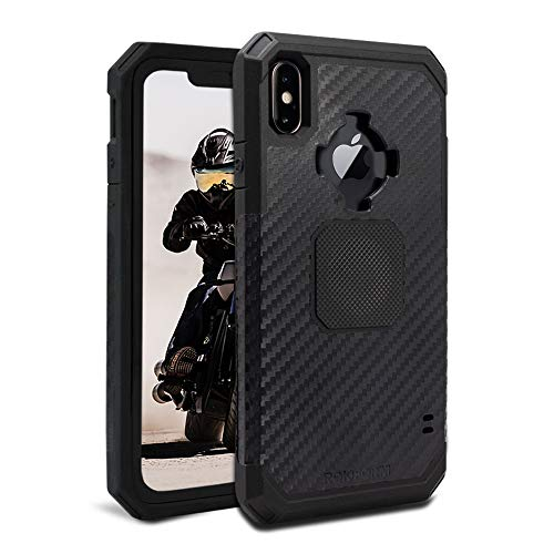 Rokform Rugged [iPhone XS MAX] Military Grade Magnetic Protective Case with Twist Lock - Black ()