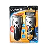 Duracell 3in1 Crank Light (Flash, Radio, Charger)-2 Pks