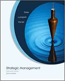 strategic management dess lumpkin eisner chapter 13 Overview strategic management: text and cases, fifth edition, by the prestigious authors dess/lumpkin/eisner provide solid treatment of traditional topics in strategic management as well as thorough coverage of contemporary topics such as digital & internet strategies, innovation & corporate entrepreneurship, knowledge management, and intellectual assets.