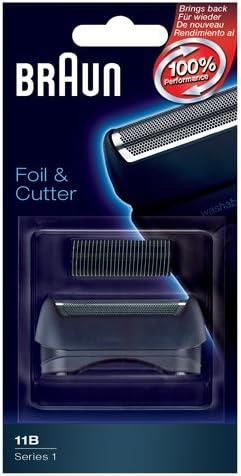 Lamina Foil & cutter para afeitadora eléctrica Braun Serie 1: Amazon.es: Salud y cuidado personal